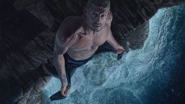 Joel Rea Paints Mick Fanning for The Archibald