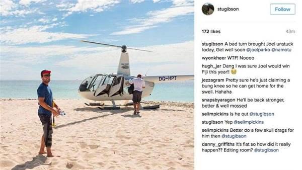 Breaking: Joel Parkinson Injured in Fiji