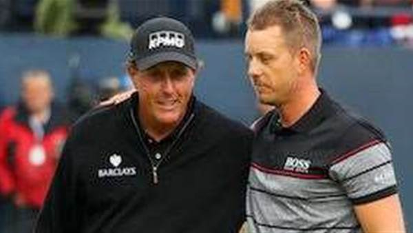VIDEO: Stenson v Mickelson Open highlights