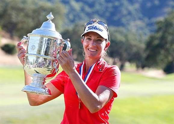 US WOMEN'S OPEN: Lang triumphs amid more rules controversy