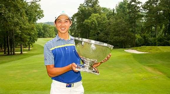 Australia's next big star wins US Junior Amateur