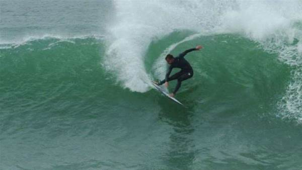 Watch: Kolohe Andino's Epic J-Bay Warm Up Sessions