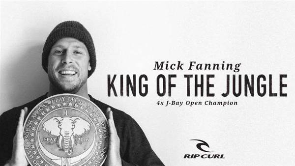 Video: King of the Jungle – Mick Fanning Wins J-Bay