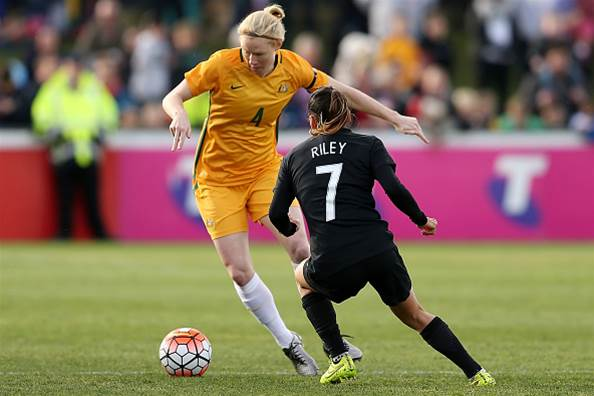 Clare Polkinghorne and the Matildas ready to shine in Rio