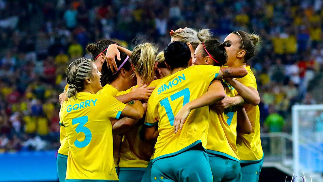 Australia get on the board at the Olympics with 2-2 Germany draw