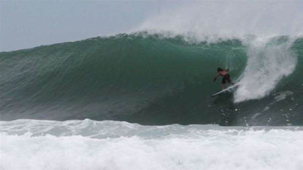 Nick Rozsa gets extremely piped somewhere in Sumatra