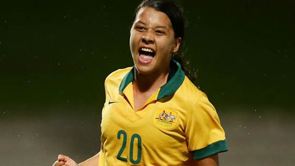 Ready in Rio: Sam Kerr and Mackenzie Arnold