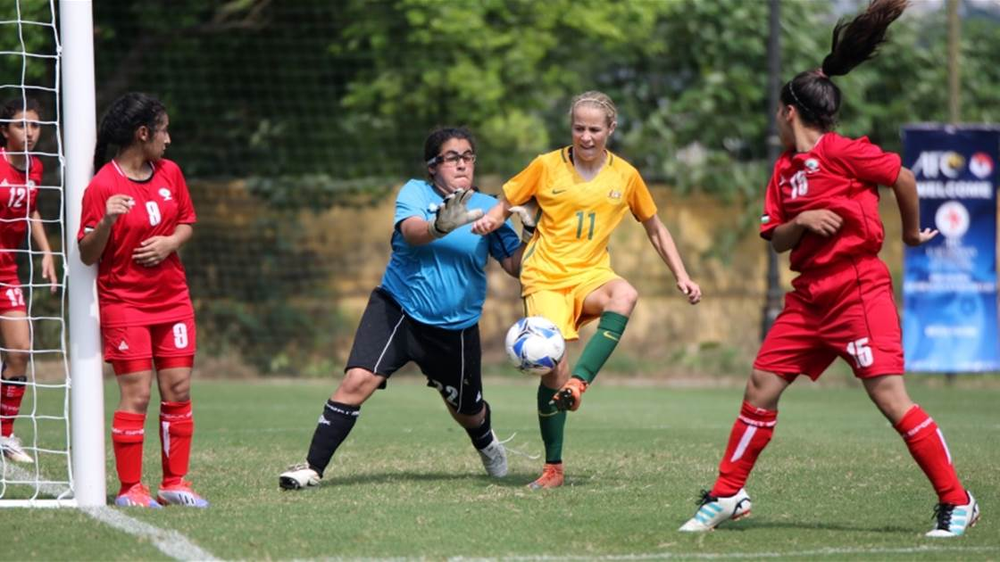 Junior Matildas cruising in AFC U-16s qualifiers
