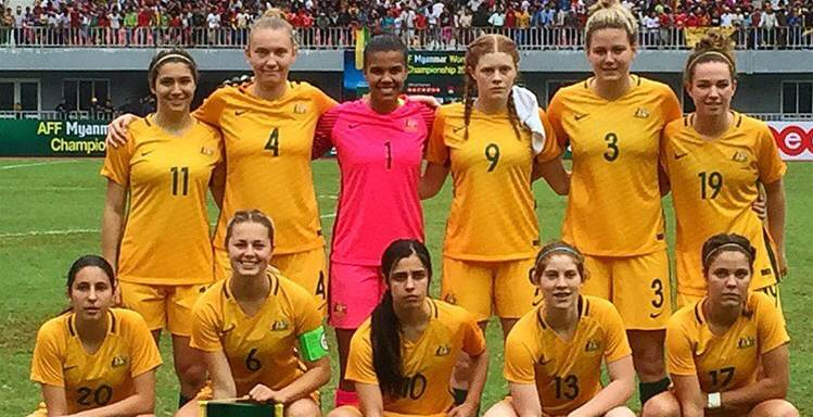 Young Matildas draw 1-1 with hosts Myanmar, top Group B