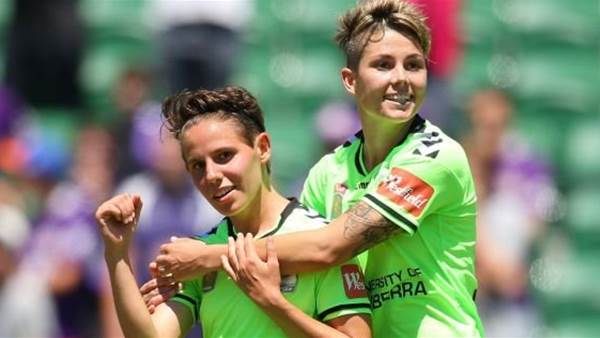 Ashleigh Sykes and Michelle Heyman to spearhead Canberra United