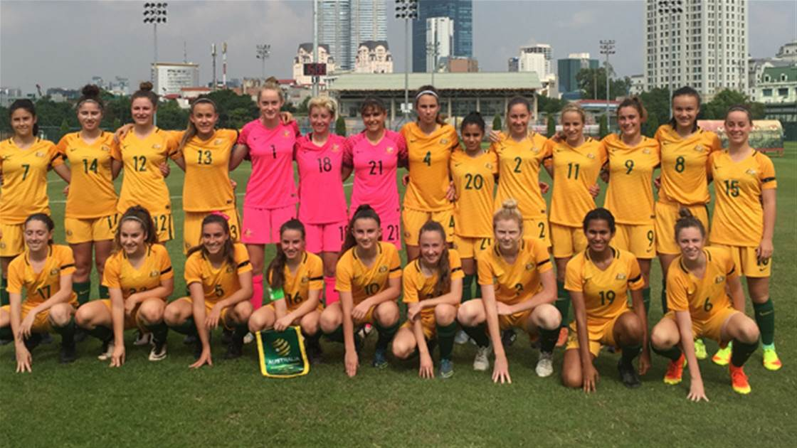 Junior Matildas complete qualifiers with perfect record