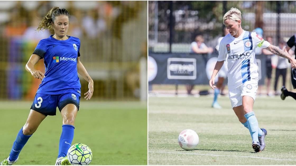 Melbourne City sign Seattle Reign duo Jessica Fishlock and Lauren Barnes