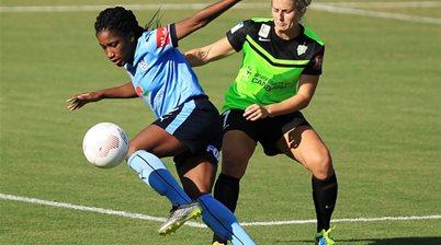 Canberra United sign Jasmyne Spencer and Celeste Boureille