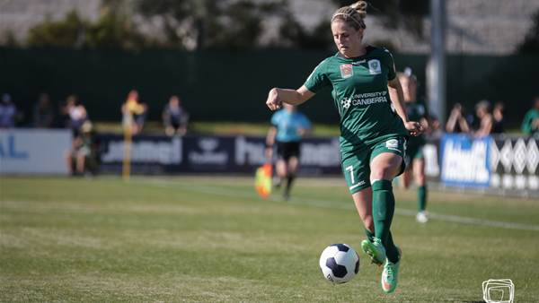Ellie Brush and Michelle Heyman to lead Canberra United