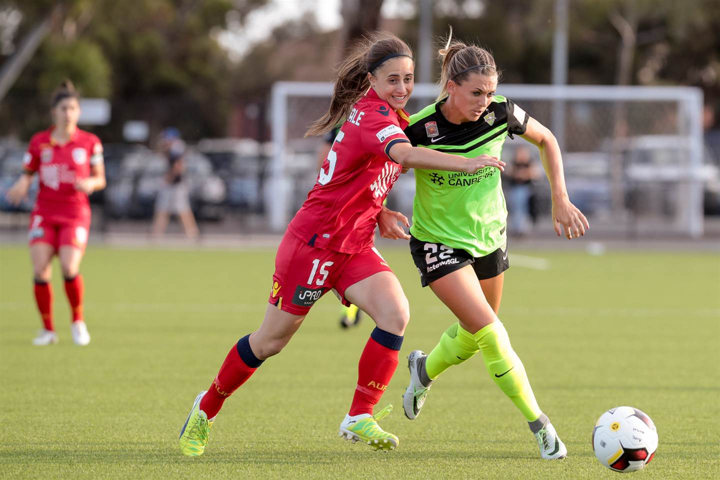 Adelaide United and Canberra United share points