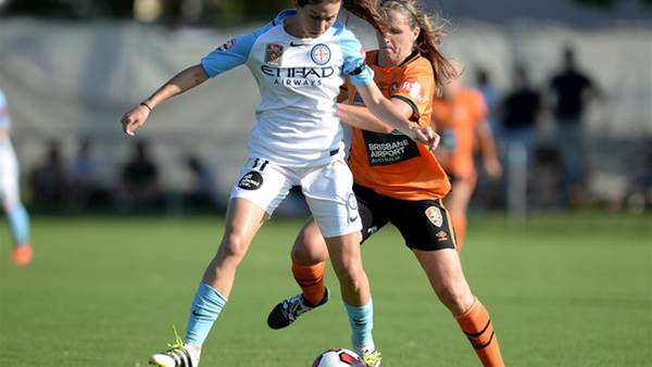 Melbourne City survive Brisbane Roar challenge