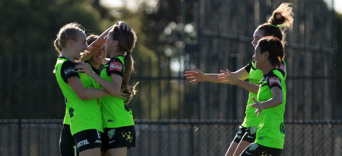 Canberra United end Melbourne City's historic streak