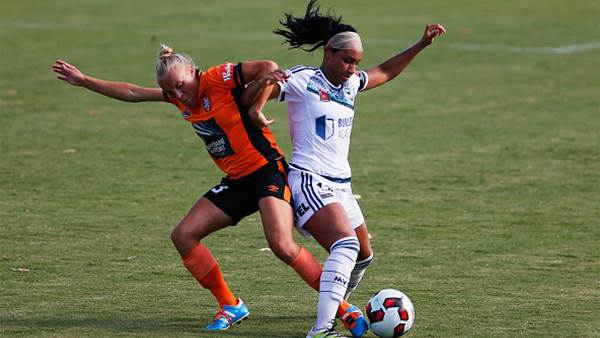 Victory secure first win away to Brisbane Roar