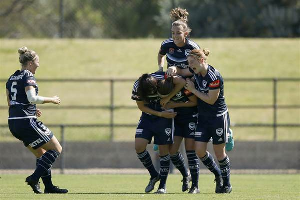 Melbourne Victory claim first derby win over state rivals Melbourne City