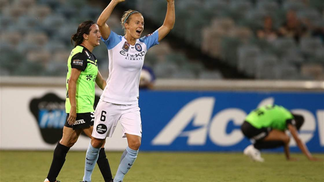 Grand final veteran Aivi Luik is ready to claim a piece of W-League history