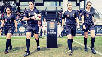 Kate Jacewicz heads officials for 2017 W-League Grand Final
