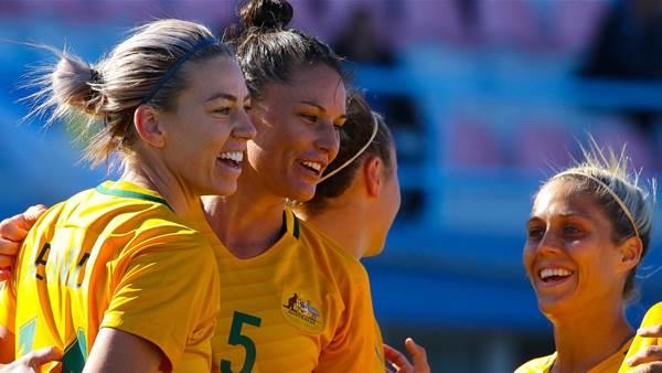 Gielnik brace fires Australia to Algarve Cup win over Netherlands