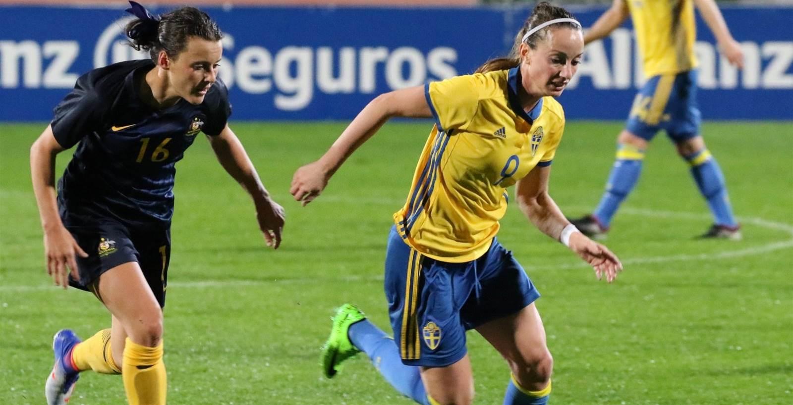 Sweden defeat Australia in Algarve Cup opener