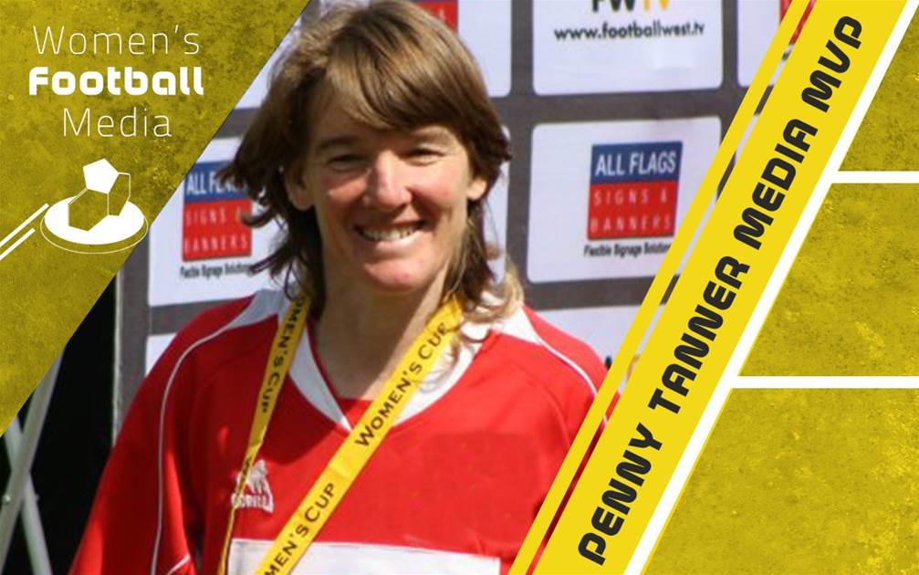Media MVP Award honours women's football veteran Penny Tanner
