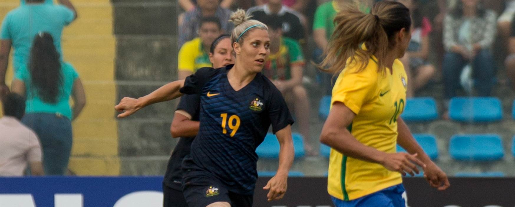 Matildas to host Brazil in two match international series