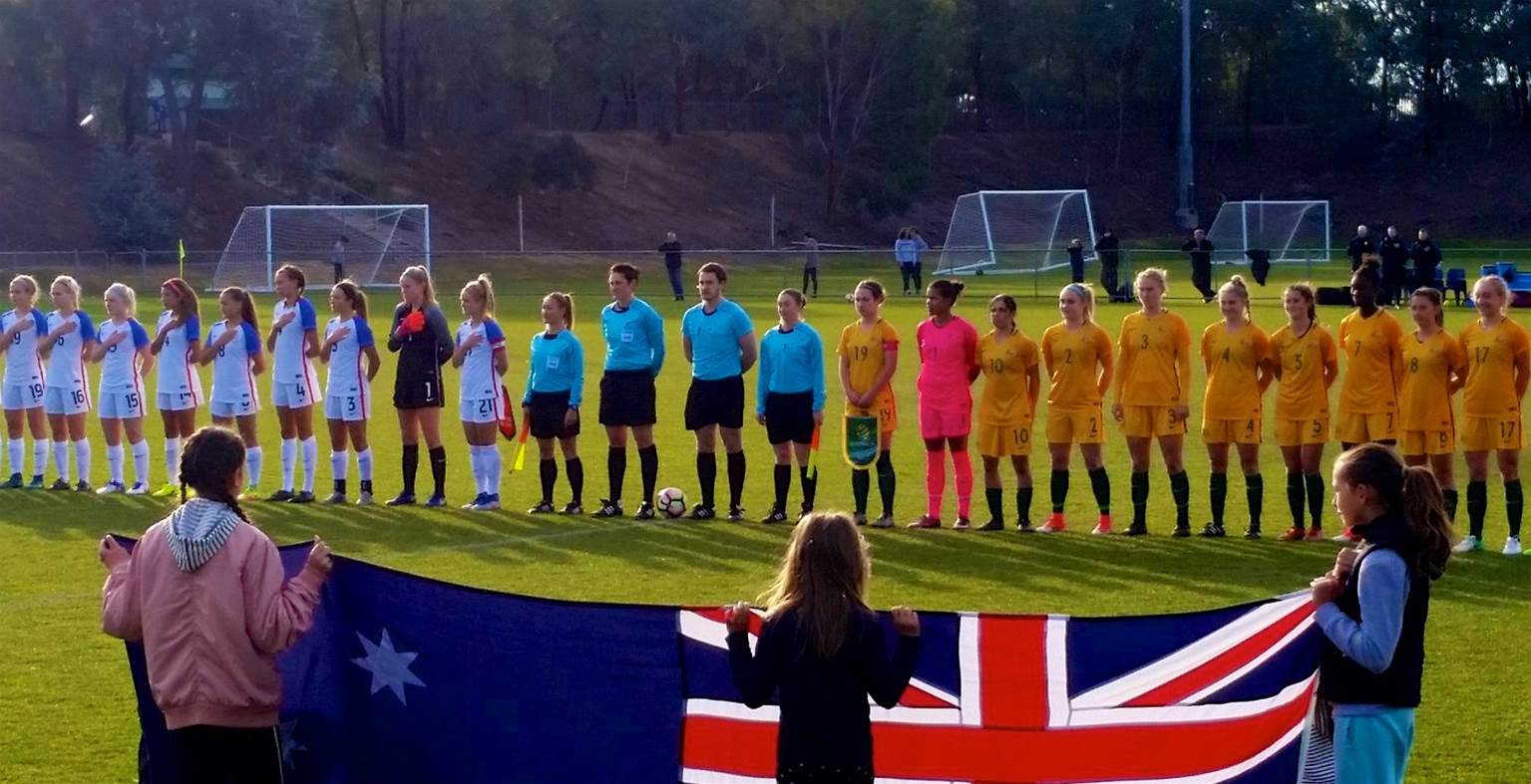 USA claim comeback 2-1 win over Young Matildas