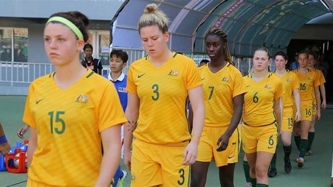 Young Matildas squad selected for USA and Canada internationals