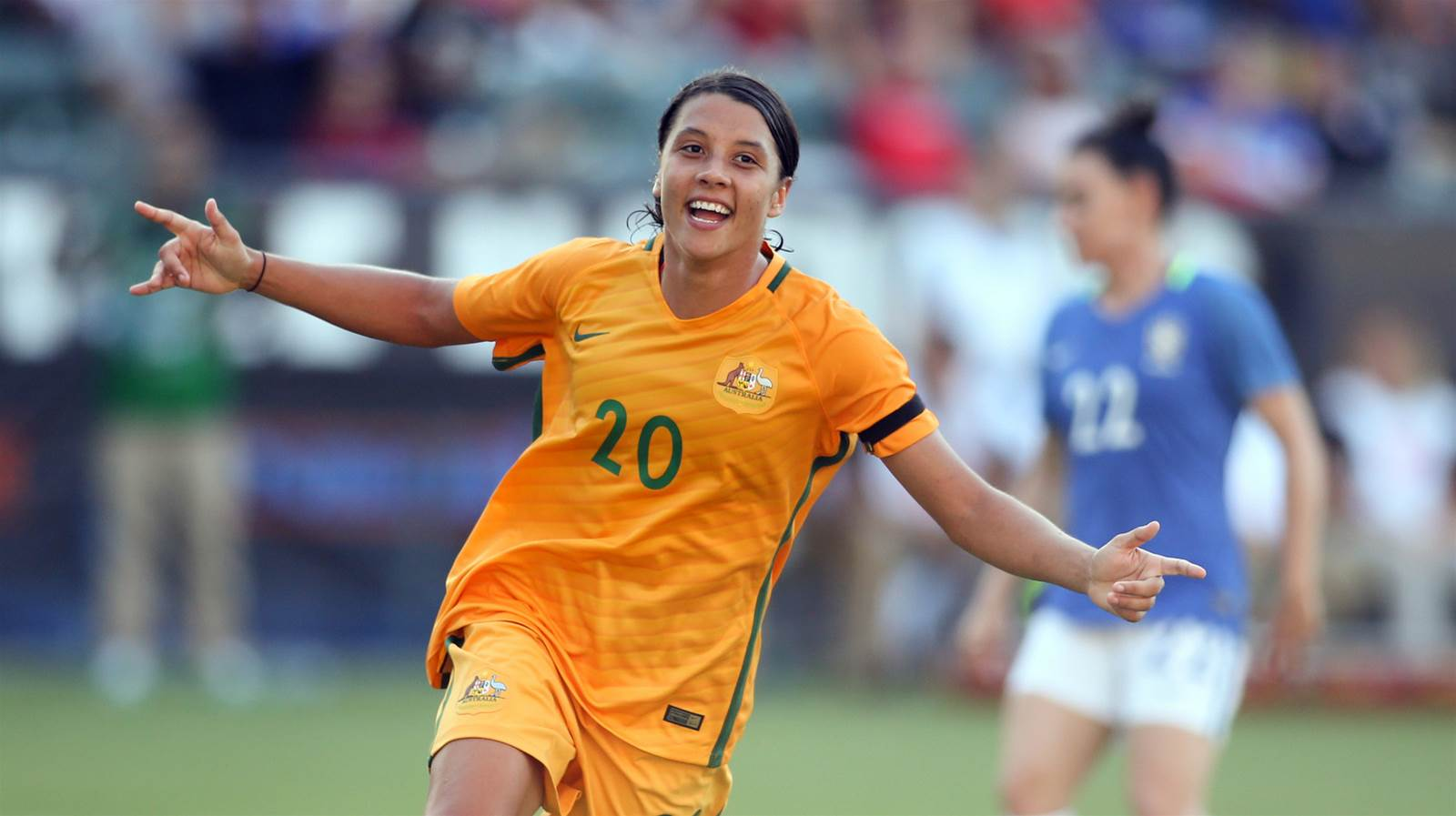 Sam Kerr nominated for FIFA World Player of the Year