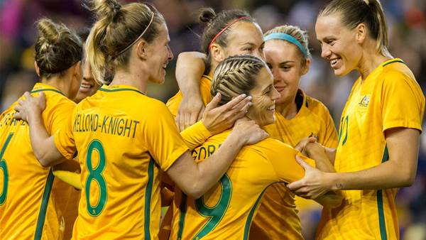 Matildas make it 5 wins in row with 3-2 victory over Brazil