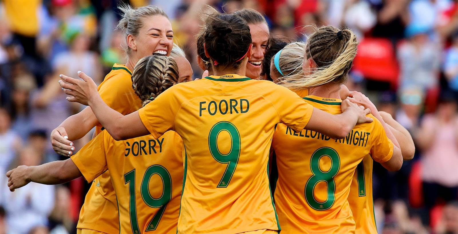 Kerr and De Vanna on target in Matildas 2-1 win over Brazil