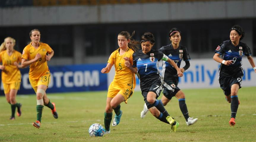 Five star Japan defeats Young Matildas