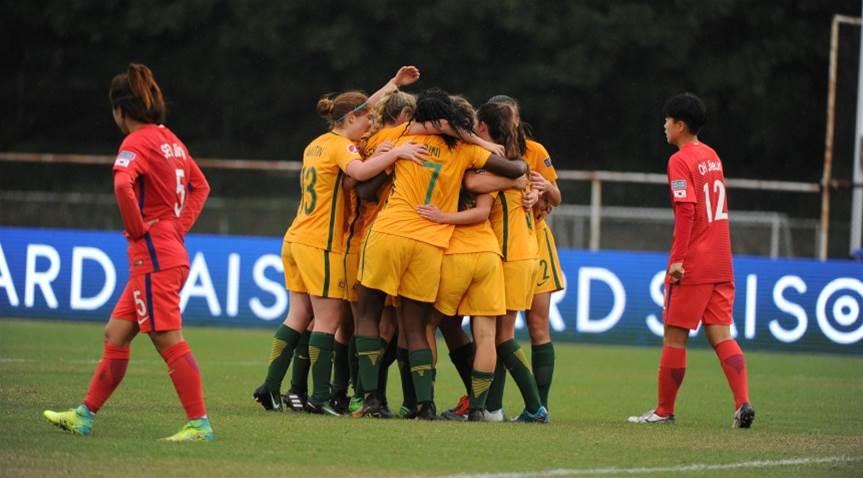 Young Matildas defeat Korea Republic 2-0 in tough opener