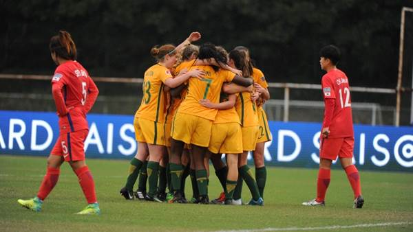 Young Matildas defeat Korea Republic 2-0 in tough opener