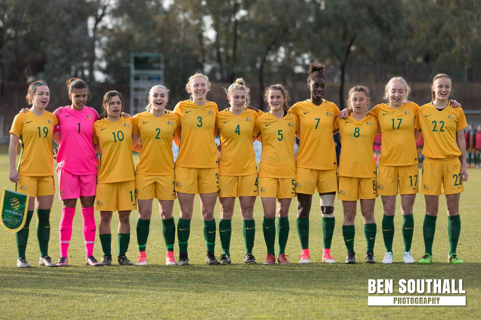 Young Matildas squad announced for 2017 AFC U19 Women's Championships