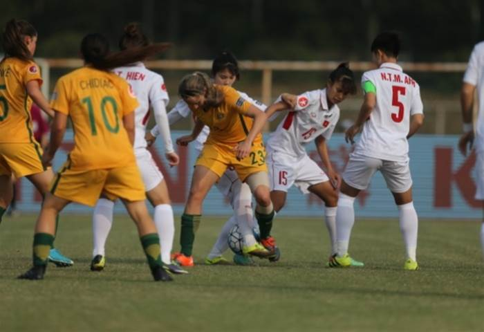 Australia defeats Vietnam 5-2 and wins through to semi finals