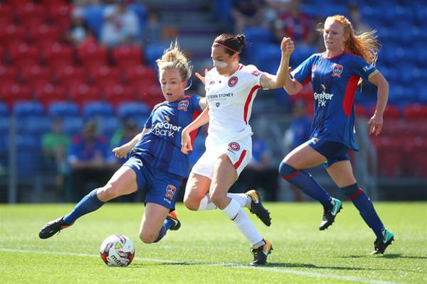 Newcastle Jets off to a flyer against Western Sydney Wanderers