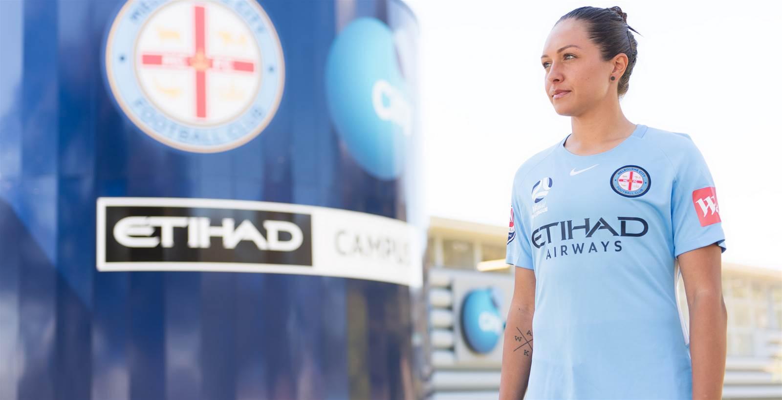 Melbourne City sign Matildas forward Kyah Simon