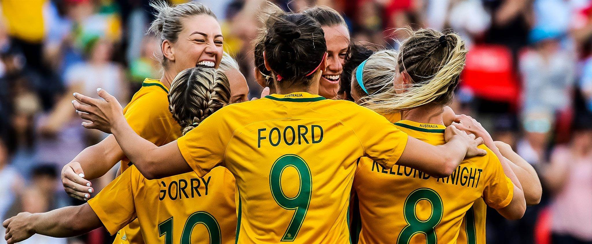 Matildas squad named to take on China in Victoria