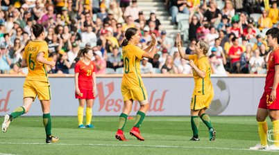 Matildas Deliver 5-1 Blow to China