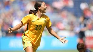 Sam Kerr named 2017 AFC Women's Player of the Year