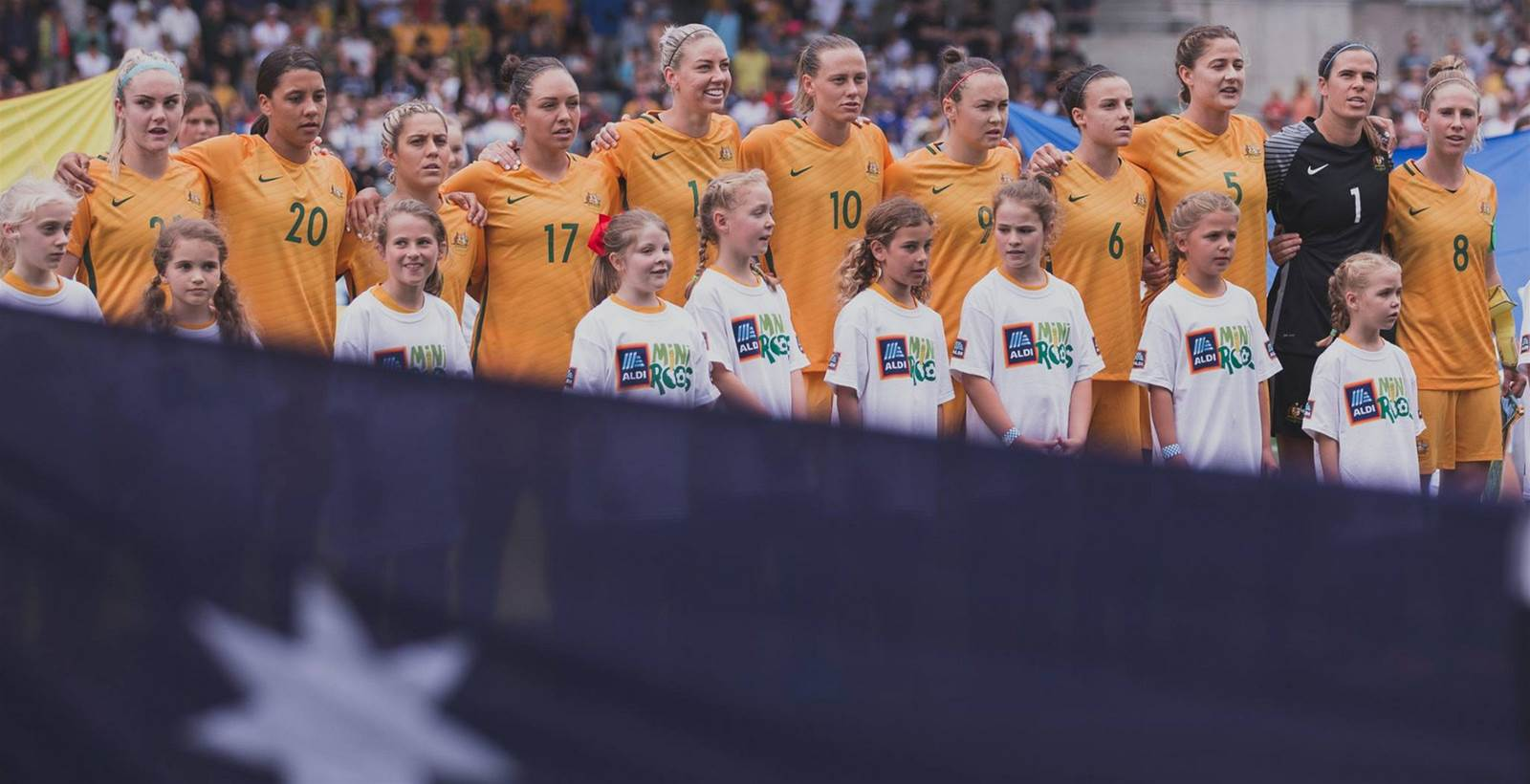 Australia drawn in Group B for 2018 AFC Women's Asian Cup