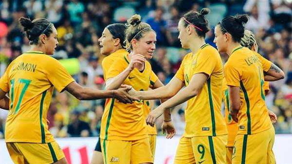 Matildas win honours at AIS Sports Performance Awards