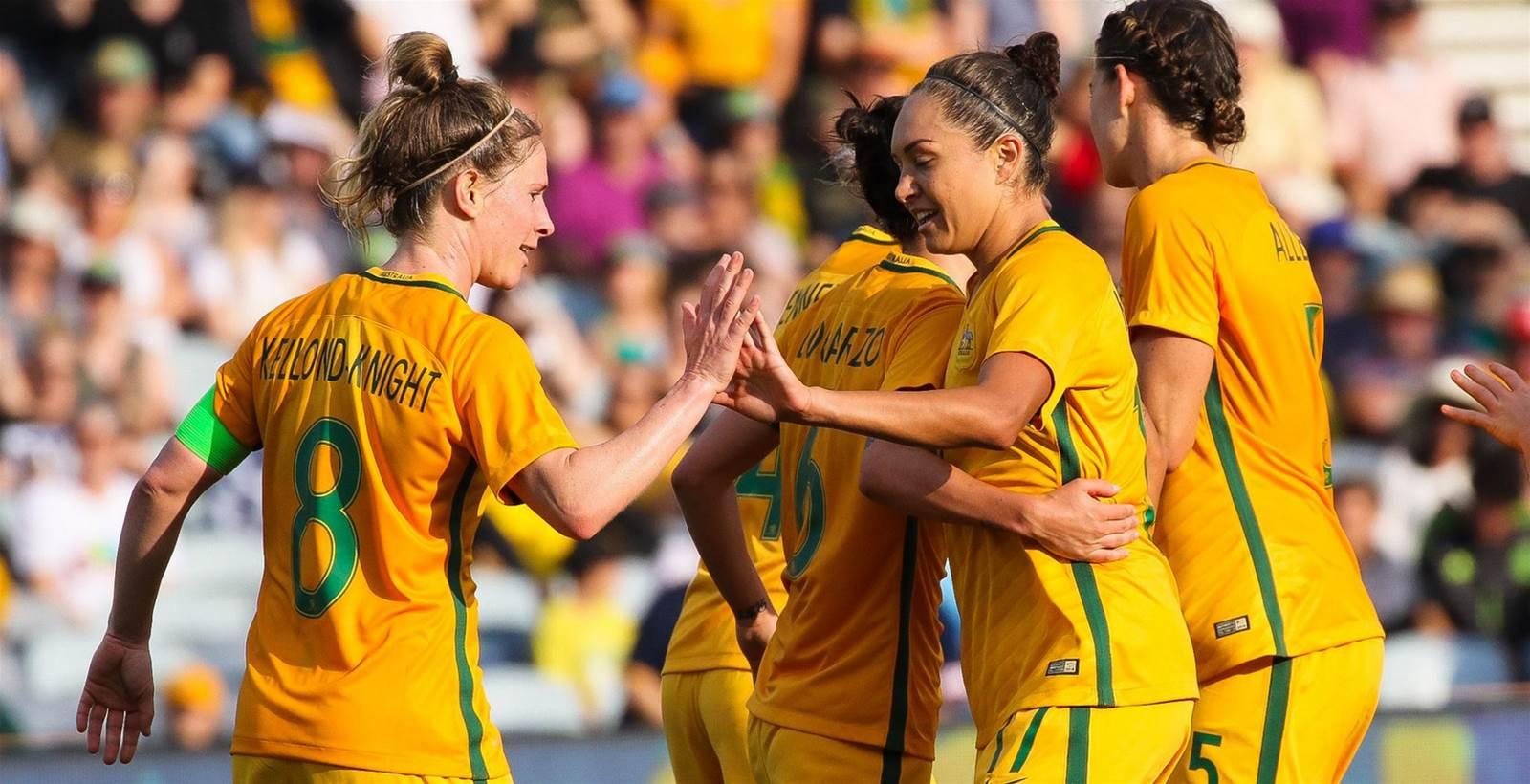 Matildas rise to all time high in FIFA rankings