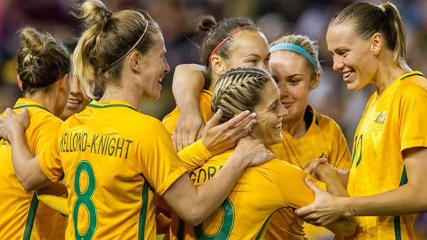 Memories of 2017: Matildas reach highest ever ranking