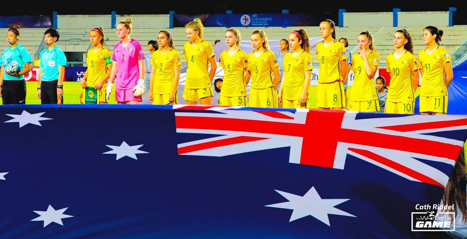 Memories of 2017: Young Matildas and Junior Matildas take on Asia