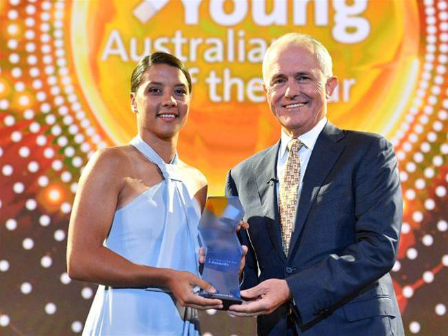 Sam Kerr named 2018 Young Australian of the Year
